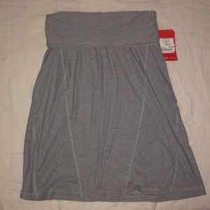 North face fold over skirt